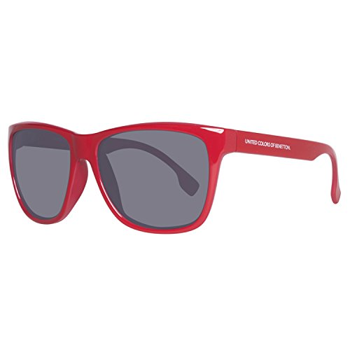 United Colors of Benetton BE882S03 Gafas de sol, Red, 58 Unisex