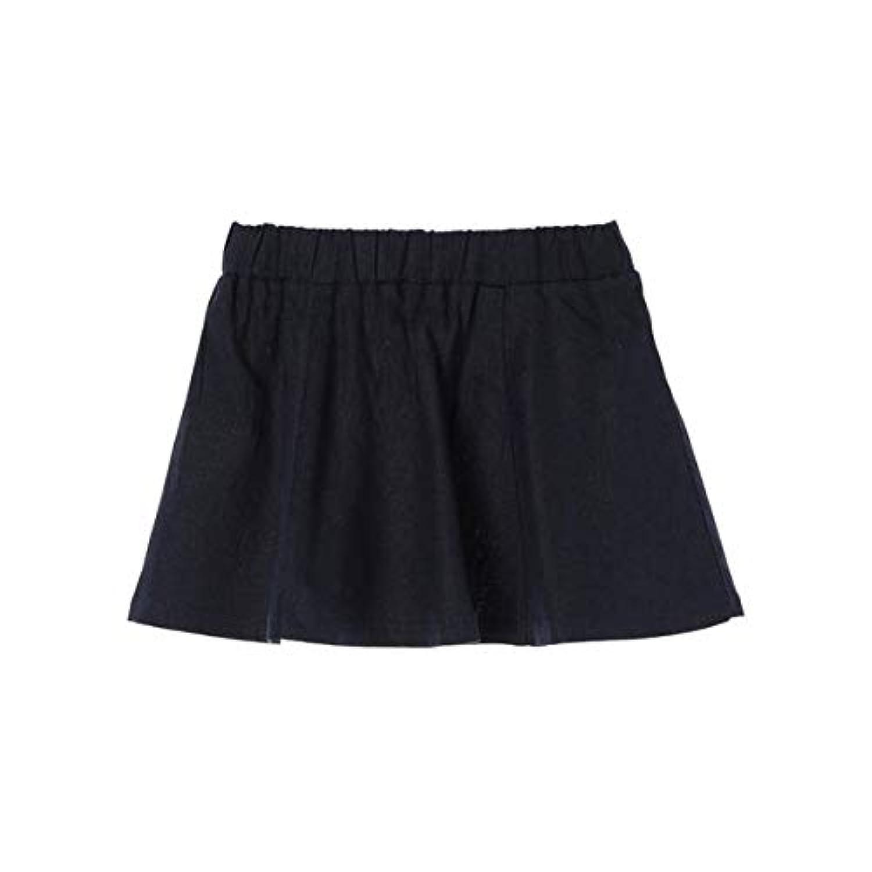 セブンデイズサンデイ(キッズ)(SEVENDAYS SUNDAY) Gリネンブレンドフレアースカート