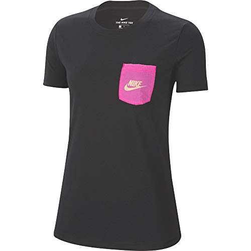 Nike NSW Icon Clash T-Shirt, Black, XS Womens