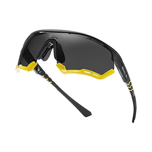 GUIH Gafas de ciclismo Gafas de sol deportivas,Gafas polarizadas con protección UV,Gafas de sol para pesca Senderismo conducción C1