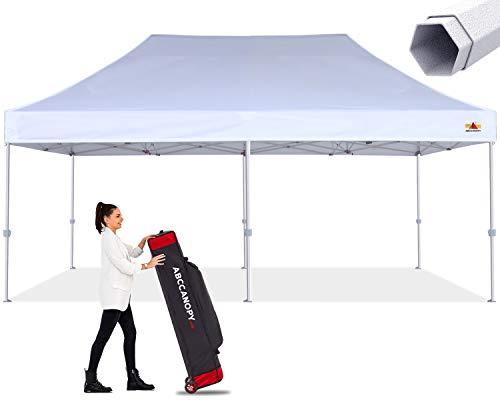 ABCCANOPY Commercial Ez Pop Up Canopy Tent 10x20 Premium-Series, White