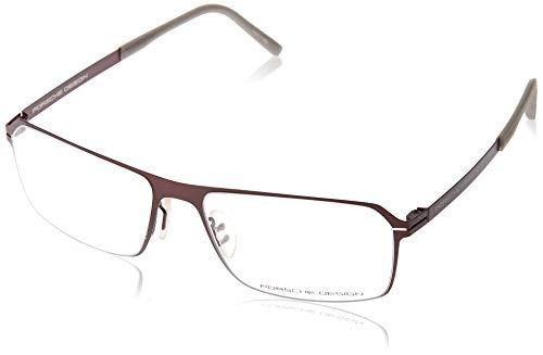 Porsche Design Brillengestelle P8255-D-55 Rechteckig Brillengestelle 55, Rot