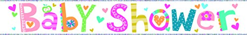 Simon Elvin holographic wall party banner - baby shower