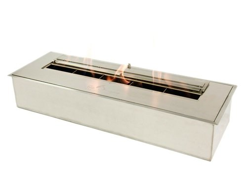 Great Deal! Bioflame 21500BTU 24 Fireplace Burner Stainless Steel Construction