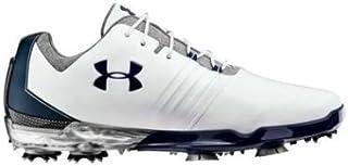 [アンダーアーマー] Match Play Golf Shoes メンズ White/Steel マッチプレイ ゴルフシューズ [並行輸入品]