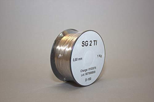 MIG SG2 Ti 1 kg 0,8 alambre de soldadura de gas de protecci�