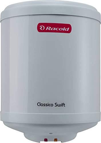 Racold 10 L Storage Water Geyser (White, CLASSICO SWIFT)
