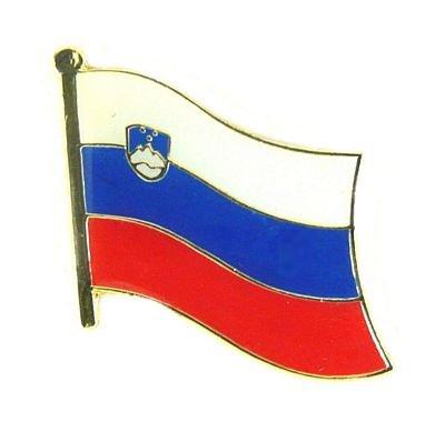 Flaggen Pin Slowenien Pins Anstecknadel Fahne Flagge FLAGGENMAE®