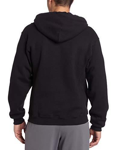 Russell Athletic Men's Dri Power Pullover Fleece Hoodie, Black, XX-Large