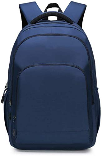 Men's Laptop Backpack,Laptop Backpack, 15.6-Inch Laptop Bag Waterproof Security, Business Men and Women Backpack, College Backpack, Gray,Deep Blue