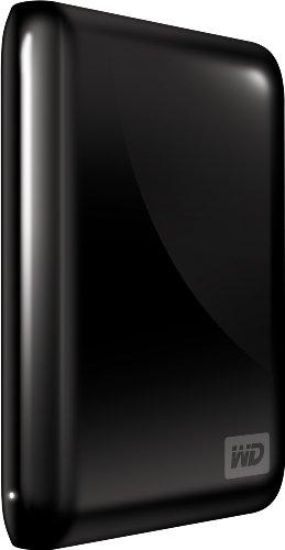 WD My Passport Essential 320 GB USB 2.0 Portable External Hard Drive (Midnight Black)
