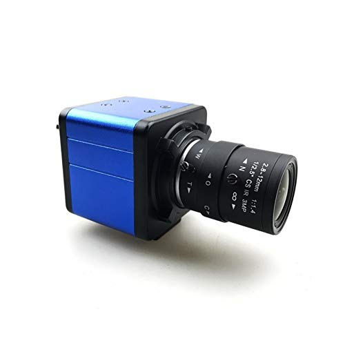 700TVL CCD 1/3 Sensor Effio-E 4140 + 811/810 OSD Menü Mini Box Industrial Analog CVBS Kamera Riemenscheibe (Farbe: Objektiv 2,8 12 mm, Signalsystem: PAL)