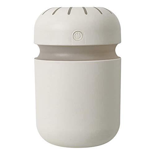 TOOGOO Cool Mist Humidifier Humidificadores de Aire, Purificador Difusor PortáTil EléCtrico USB para la Sala de Estar del Dormitorio del Hogar, Blanco