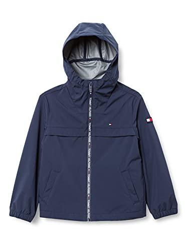 Tommy Hilfiger Jungen Coated Jacket Jacke, Twilight Navy, 6