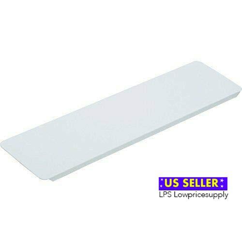 Replacement Medicine Cabinet White Metal Shelf (1 Pcs)