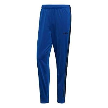 adidas Men s Essentials 3-Stripes Tapered Tricot Pants Collegiate Royal Medium