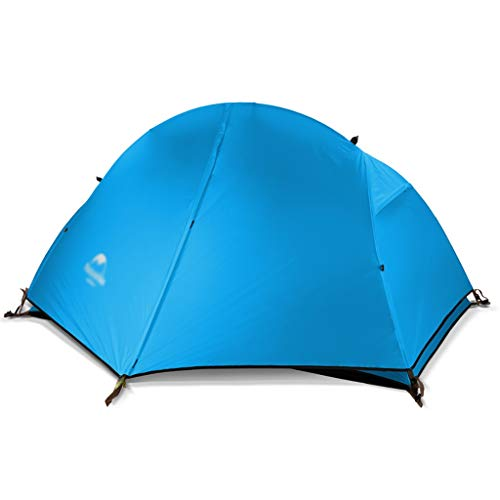 Camping tent Ultralight Single Person Tent,Lightweight Backpacking Tent,1 Person Personal Bivy Tent Easy Setup for Travel Outdoor Mountaineering Hiking One People Sleeping (color : B)