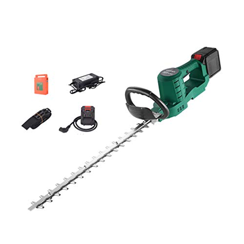 Lowest Price! Cordless Hedge Cutter with 48 V Rechargeable Hedge Trimmer Tea Tree Tea Tree Trimmer S...