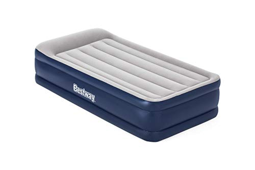 Bestway Tritech Airbed Inflatable Mattress with Built-In Fast Inflation Air Pump, Single