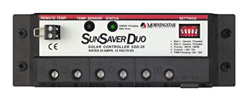 Morningstar SunSaver Duo Charge Controller | World Leading Solar Controllers & Inverters