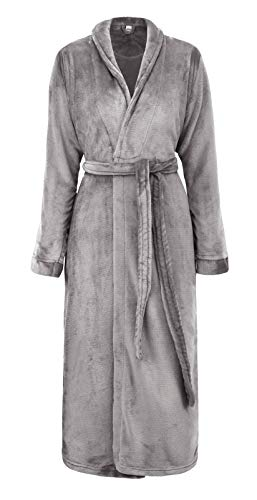 Simplicity Unisex Plush Spa Hotel Kimono Bath Robe Bathrobe | Amazon.com