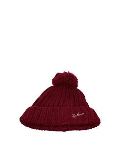 Schott Bonnet homme Schott ref_jaj41819 rouge - Rouge Bordeaux