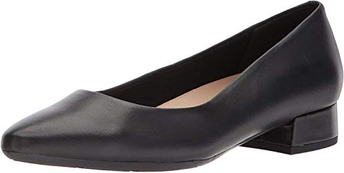 Easy Spirit Womens Caldise Pump, Black 001, 11