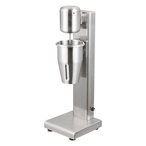 Milchshaker, Edelstahl mit 180 Watt und 20000 U/min, 1000 ml Mixer für Mixgetränke in professioneller Ausführung