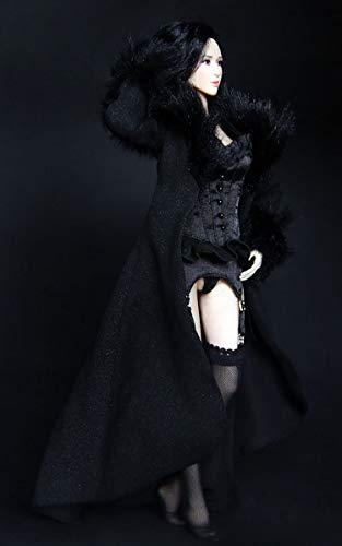 Clicked 1/6 Maßstab Uniformsatz Hübsches Schwarzes Unterwäsche Nachthemd Für Frauen Für 12 Inch Figur(Ohne Körper)