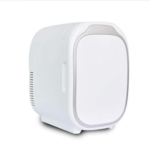 YSXFS Mini Frigorifero, Mini Frigo con 6 Litri capacità, Piccolo Frigorifero Portatile per Camera da Letto/Cura della Pelle/Stoccaggio del Latte al Latte/Farmaci per Latte/Farmaci Picc(Color:Bianca)