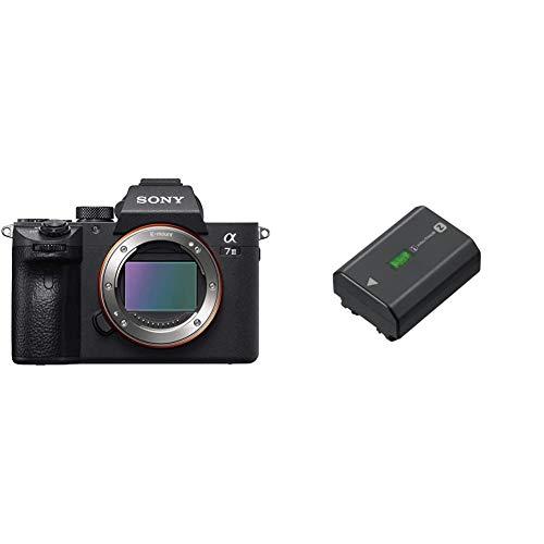 Sony Alpha ILCE7M3 - Cámara de 24.2 MP Negro + NP-FZ100 Camera/Camcorder Battery 2280 mAh - Camera/Camcorder Batteries (2280 mAh, Cámara, Sony, α9, 7,2 V, 16,4 WH)
