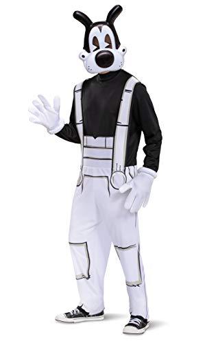 Disguise Men's Boris Adult Costume, Black & White, XL (42-46)