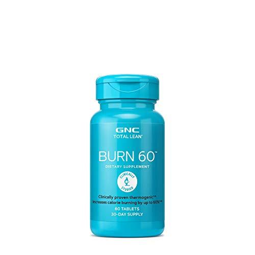 GNC Total Burn Nutritional Supplement Cinnamon Flavored, 60 Count