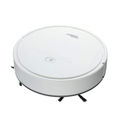 Anntool Vacuum Cleaner Robot, 3 in 1 USB Rechargeable Automatic Vacuum Mopping, Smart Mini Vacuum Cleaner for Hard Floor Low Pile Carpet Hair