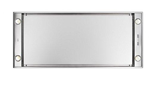 Novy Deckenhaube Pureline 120cm Edelstahl ohne Beleuchtung 6843