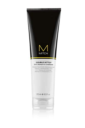 MITCH Double Hitter 2-in-1 Shampoo and Conditioner, 8.5 Fl Oz