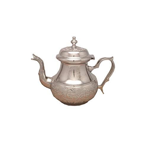 Marokkanische Teekanne Fes Ohne Beine-S