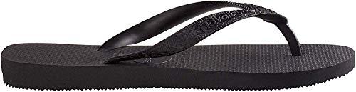 Havaianas Men's Top Sandal,Black,39/40 BR (8 M US)