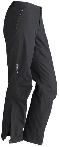 Marmot WM's Minimalist Pantalones Impermeables, Mujer, Negro, S