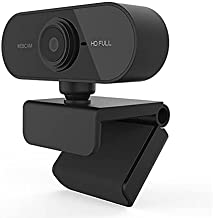 CNmuca HM-UC01B Webcam Computador PC Câmera Web Com Microfone Para Transmissão De Vídeo Conferência De Chamadas Ao Vivo MA...