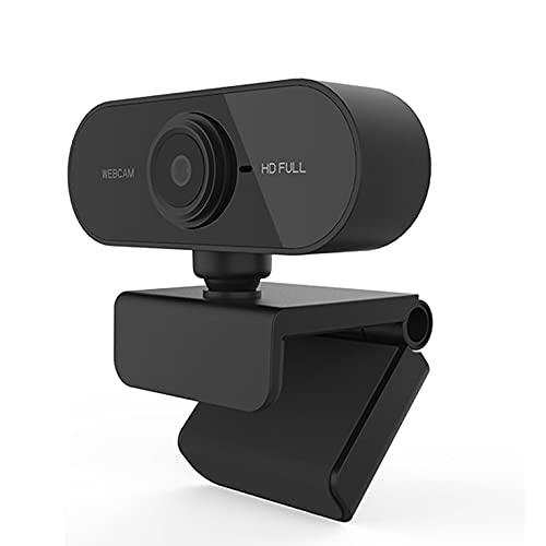 CNmuca HM-UC01B Webcam Computador PC Câmera Web Com Microfone Para Transmissão De Vídeo Conferência De Chamadas Ao Vivo MAC PC Preto