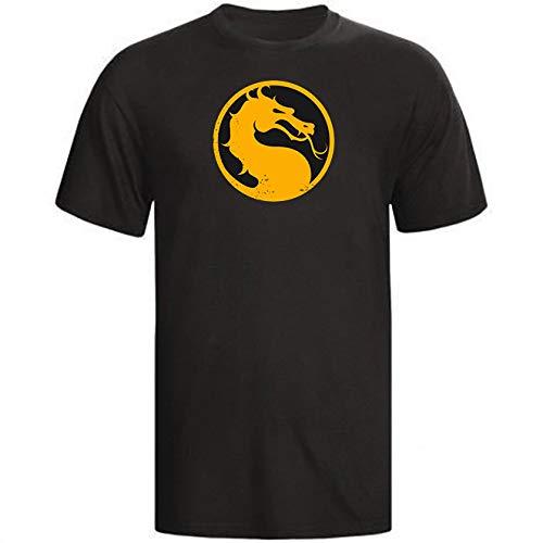 Camiseta Camisa Mortal Kombat 2021 Preta (XG)