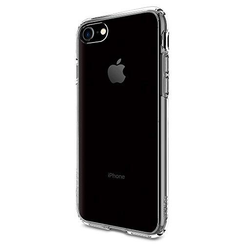 Becool - Funda iPhone 7 Spigen Ultra Hybrid Transparente - Fundas y Carcasas para teléfono móvil - Los Mejores Precios