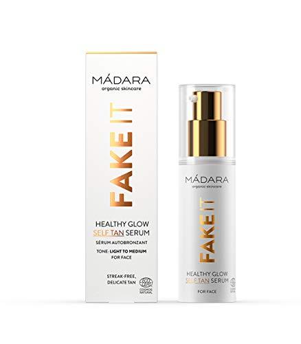 MÁDARA | FAKE IT Healthy Glow Self Tan Serum, 30ml