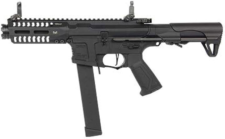 Fucile softair g&g armament softair 0,9 joule g&g fucile elettrico arp 9 nero (gg-arp9) B07T1C8NS2