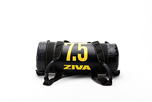 ZIVA Performance Power Core Bag 7.5 Kg Bolsa, Unisex Adulto, Negro/Amarillo, Talla única