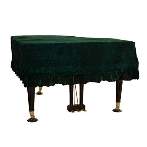 Hexiao Grand Piano Abdeckung Grenzte Staubschutzhülle Cloth Heim Dekoriert Waschbar Anti-Kratzer-Klavier-Abdeckung Weiches Triangel-Staubdichtes Makramee xiao1230