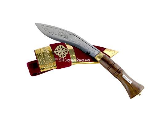 "Srawen Nepalese 12"" Khukuri Khukri Gurkha kukri Blade Hunting Knife kukri for Sale"