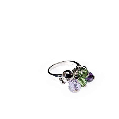 Love your diamonds señorías juguetón cristal - y Zirconia-anillo, tamaño 56