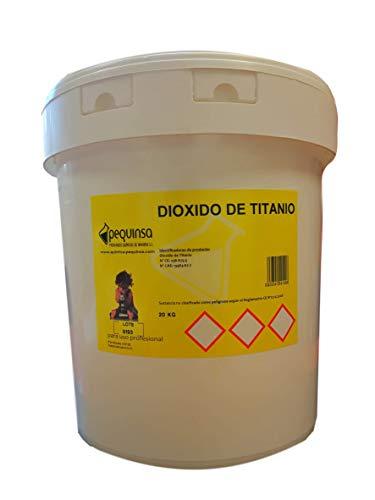 Dioxido de Titanio. Envase 20 kg.